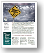 IT disaster recovery newsletter for LTC providers