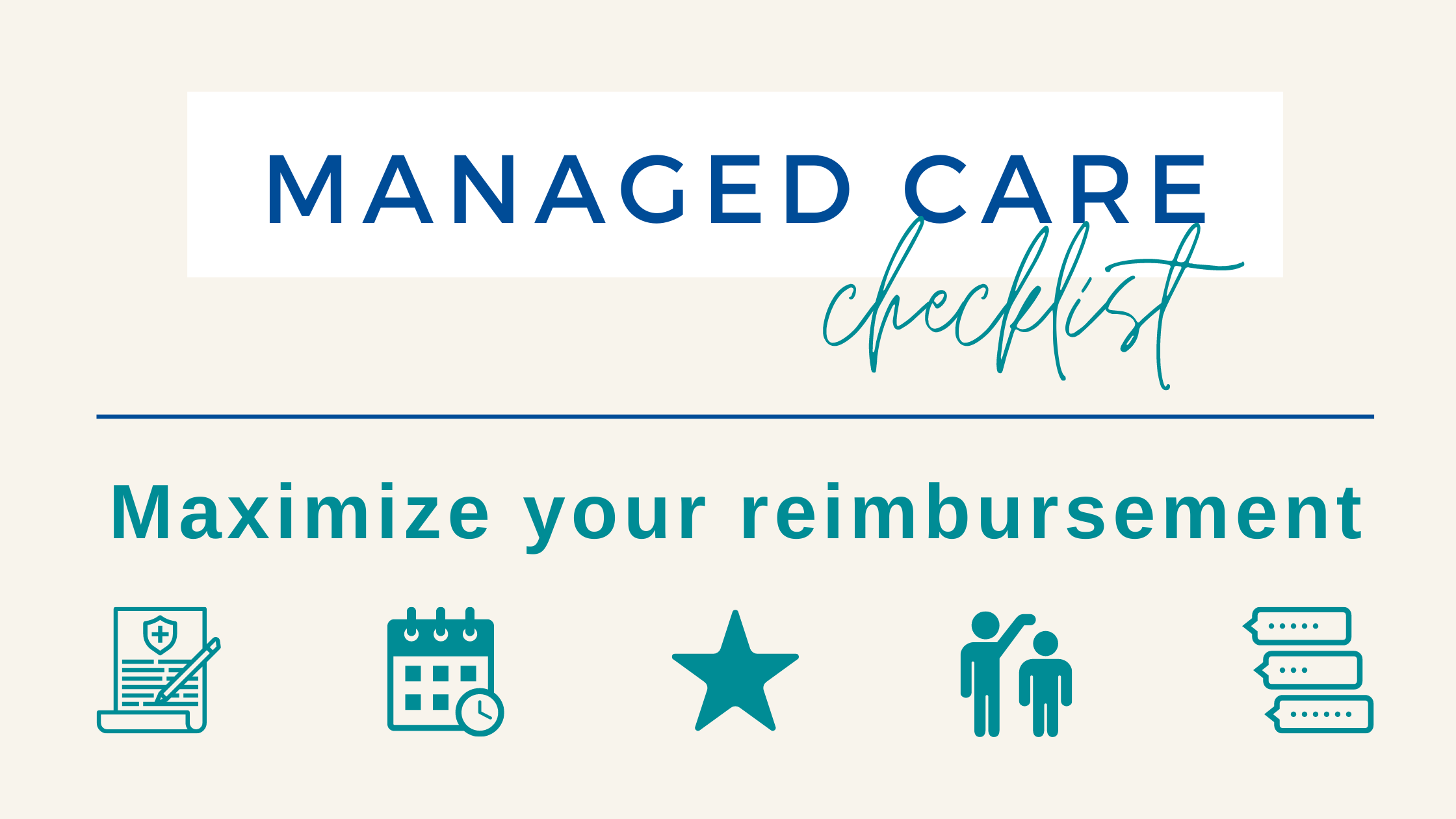 maximize-managed-care-reimbursement-news