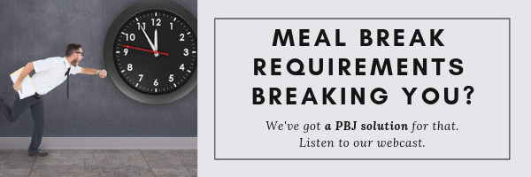 meal break requirements breaking you_