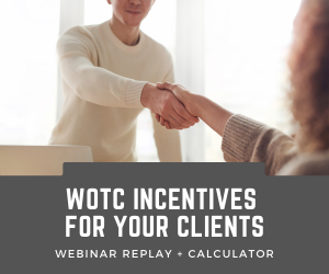 wotc incentives for your clients