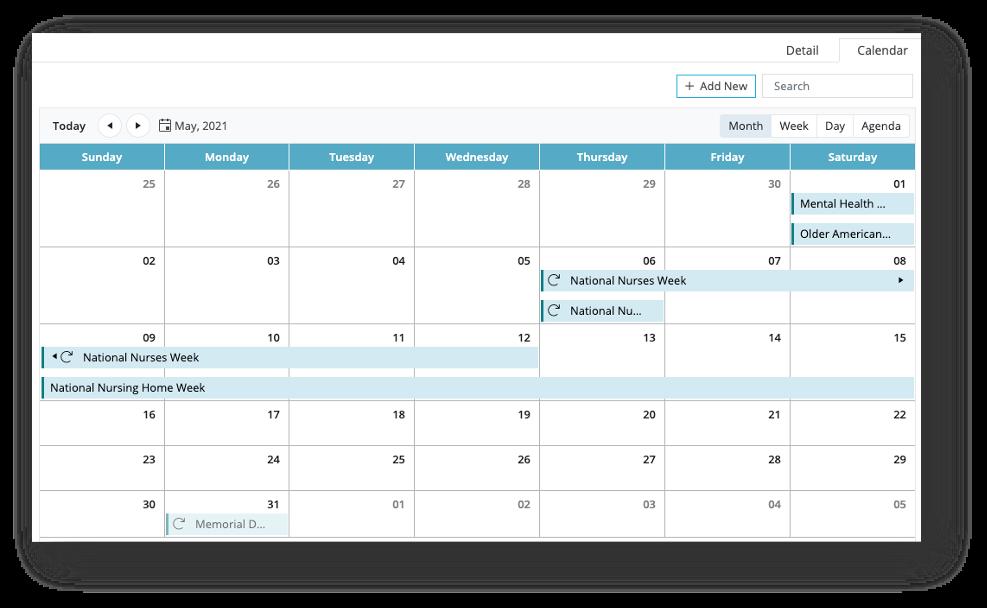 MYP-Calendar