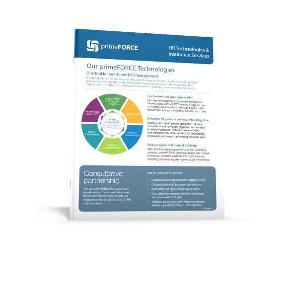 primeFORCE Tech & Insurance E-Sheet