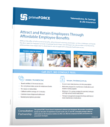 primeFORCE Employee Benefits