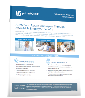 primeFORCE Employee Benefits