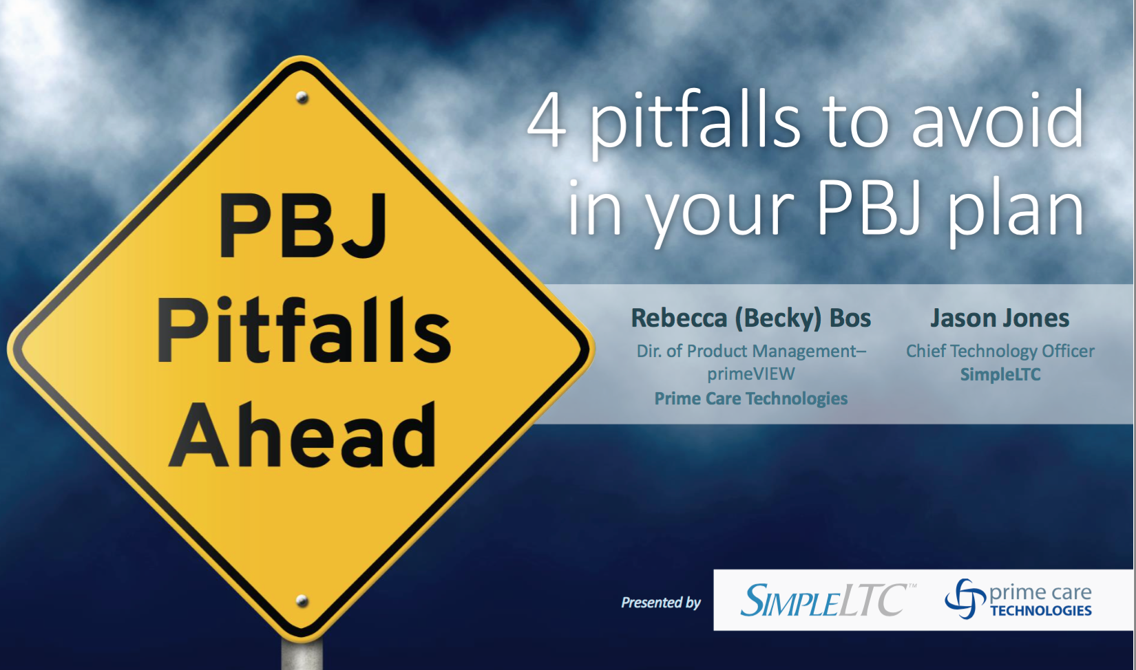 4 Pitballs to Avoid in Your PBJ Planning with SimpleLTC