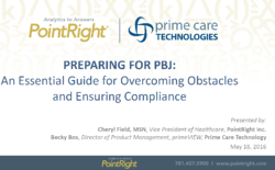 Overcoming PBJ Obstacles and Compliance with PointRight
