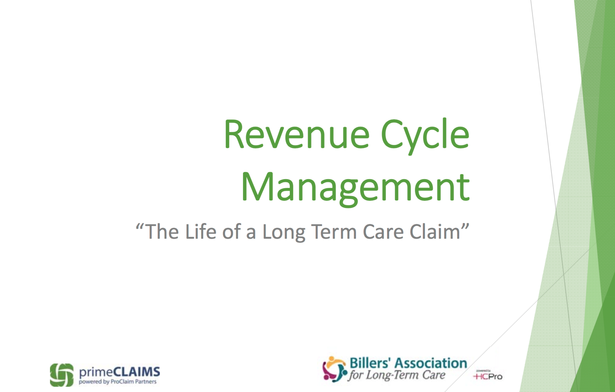 The Life of a Long-Term Care Claim with Pathway Health