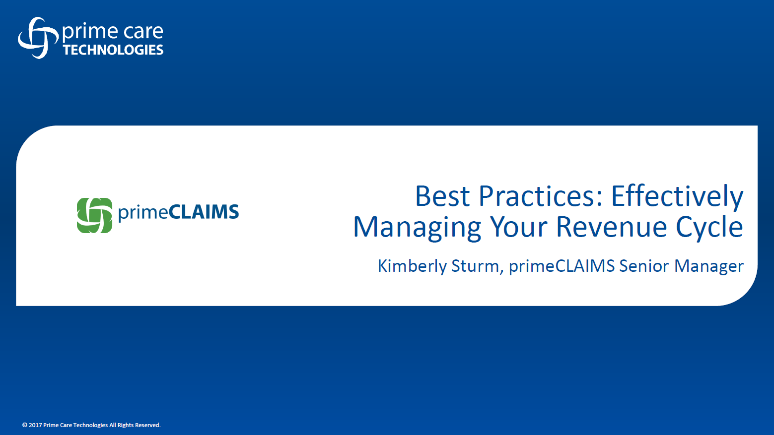 Best Practices for Post-Acute Care Revenue Cycle Management