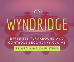 Wyndridge Expedites Turnaround & Controls Secondary Claims