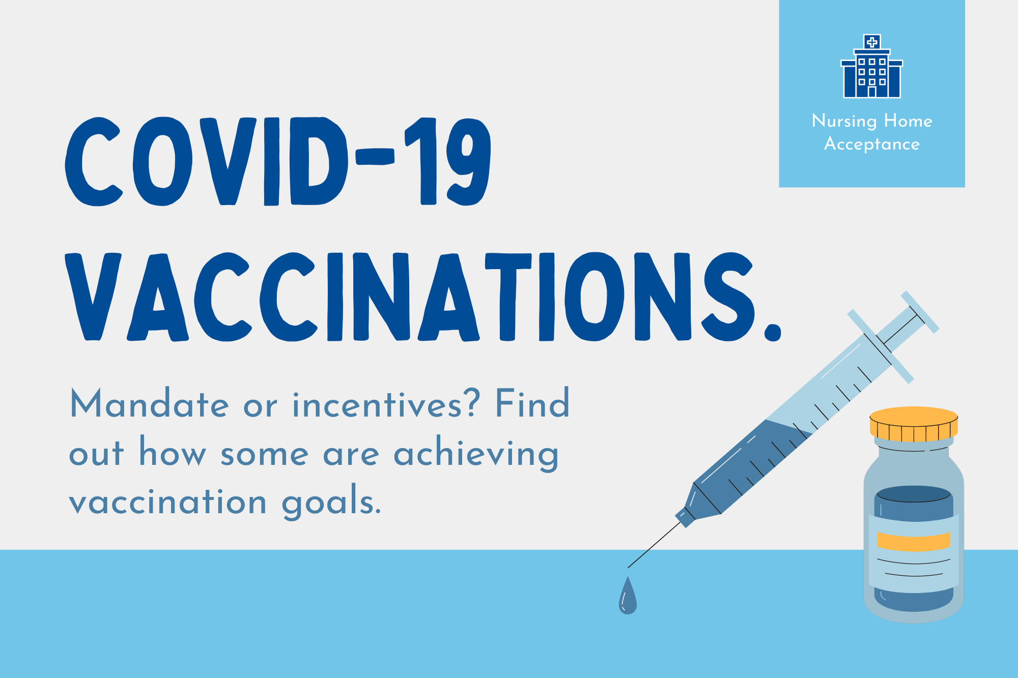 Achieving Staff Vaccine Goals for COVID-19 in Your Senior Care Homes
