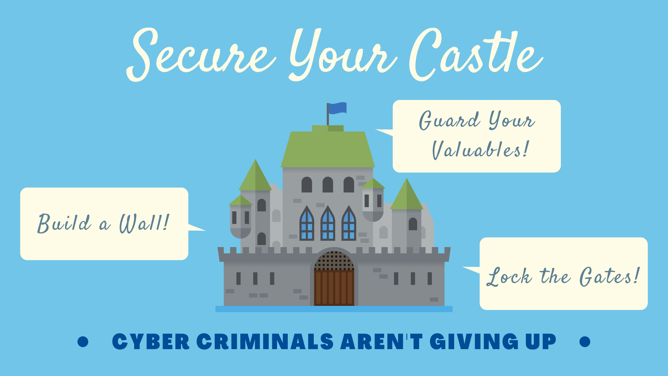 Secure Your Castle - Cyber Criminals Are Not Giving Up
