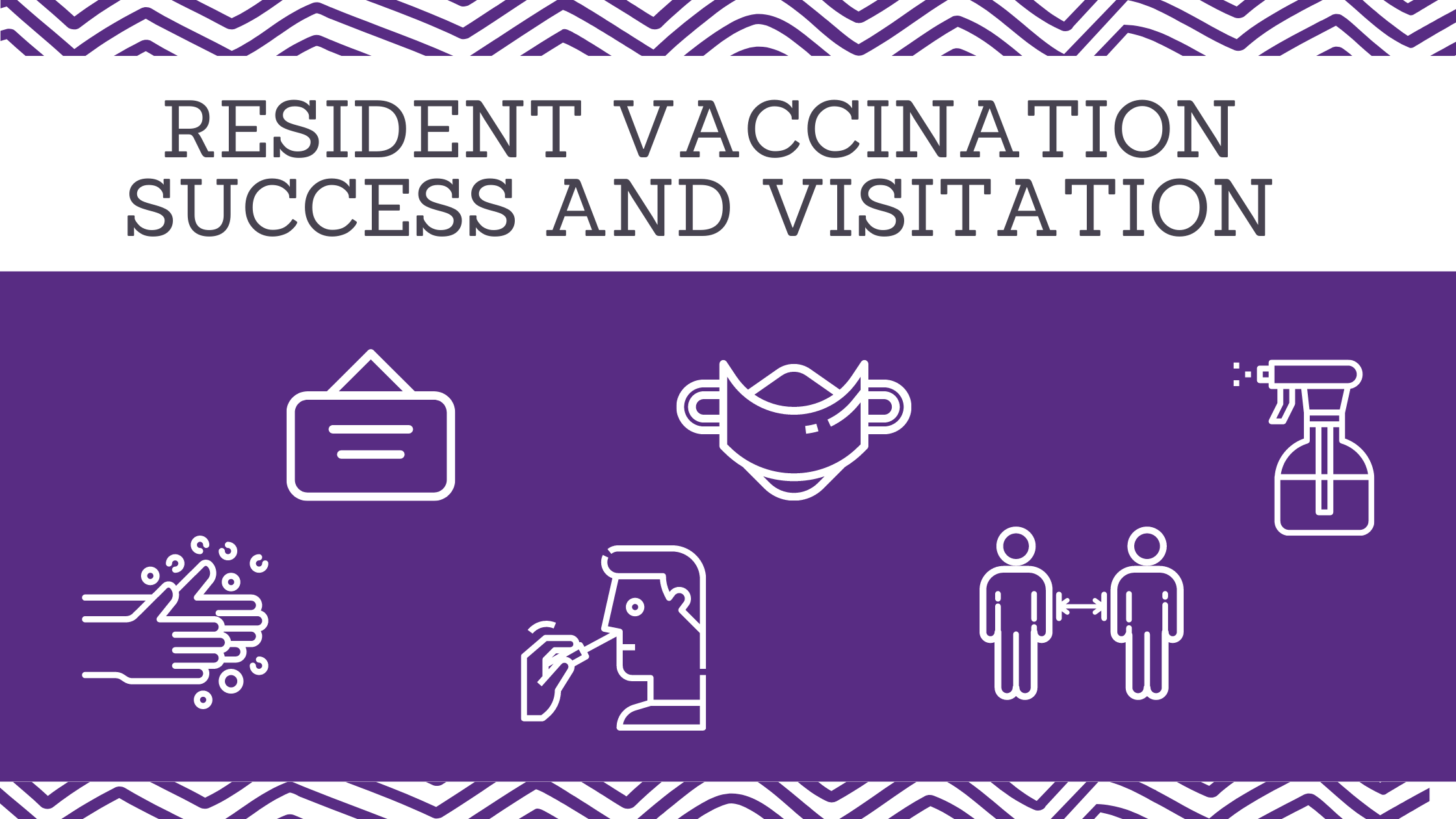 resident vaccination success and visitation